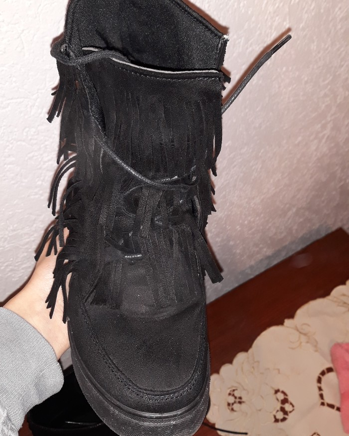 Patike/cipele sa skrivenom platformom..nošene 2 puta...broj 37. Photo 1