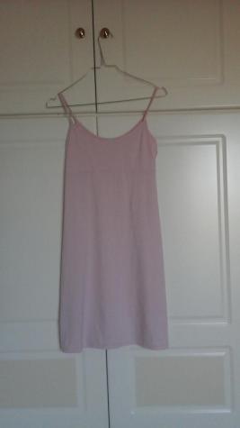 Σατέν νυχτιάτικα σε απαλό ροζ χρώμα.Στείλτε μνμ. Photo 1