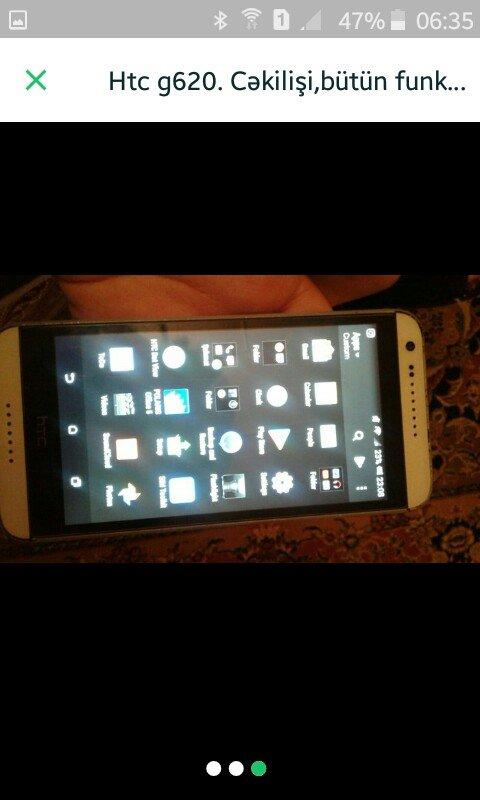 Sumqayıt şəhərində 8ayın telefonudur. bütün funksiyaları var. G620 model. sadəcə biraz za