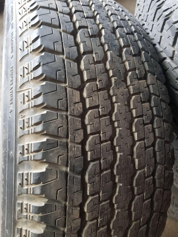Комплект резины на внедорожник, Bridgestone Dueler 265 65 r17Резина: Комплект резины на внедорожник, Bridgestone Dueler 265 65 r17Резина