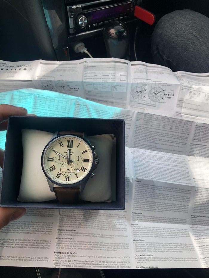 Мужские Серебряные Классические Наручные часы Casio. Photo 0