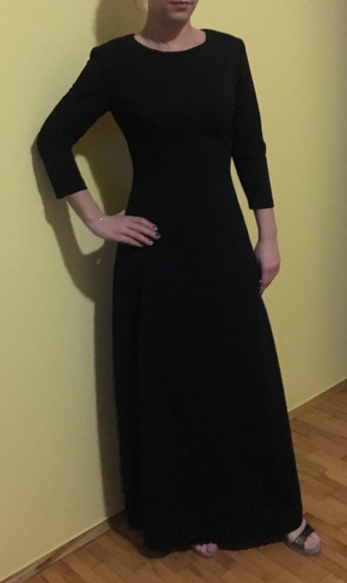 Crna duga haljina, nikad nosena. Photo 1