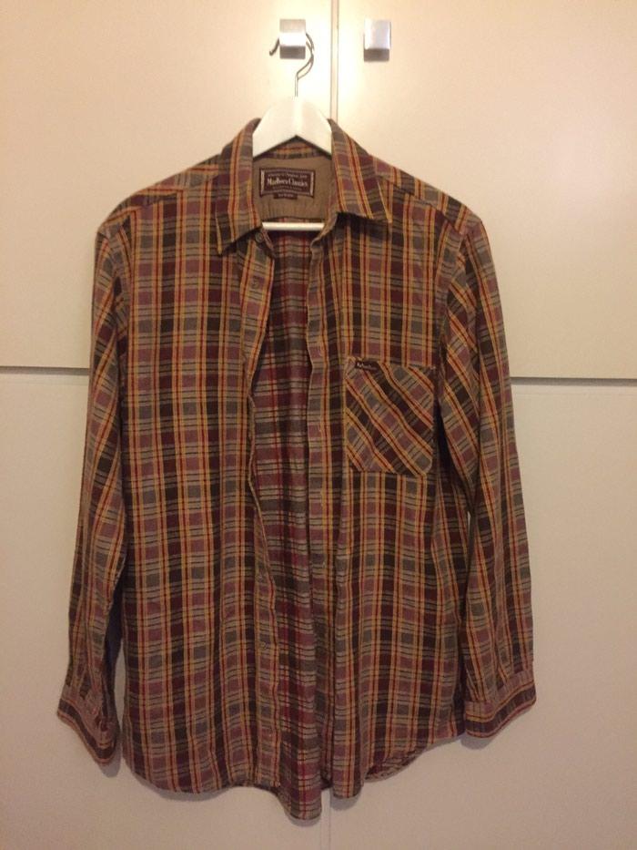 Βαμβακερό, χοντρό πουκαμισο Marboro Classics . Aφόρετο. No Medium