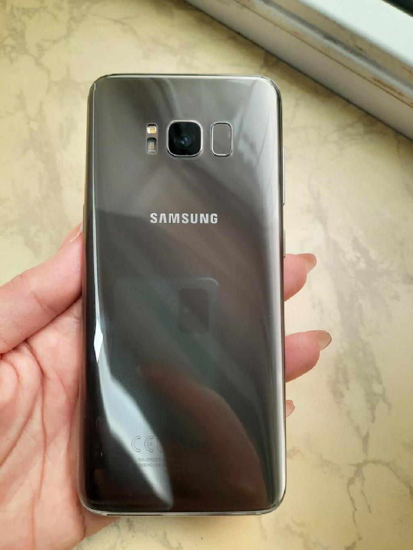 Samsung Galaxy S8 edge cizigi yoxdu ustaya gedmeyib 64mb rengi qizili qiet 450 manat catdirilma var ##AYSEL