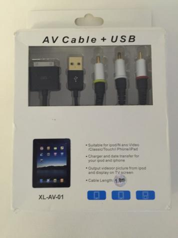 ΚΑΛΩΔΙΟ σύνδεσης με τηλεόραση για Apple iPhone 4, 4s, iPad, iPod, iPod Nano - ΔΩΡΕΑΝ ΑΠΟΣΤΟΛΗ ΠΑΝΤΟΥ