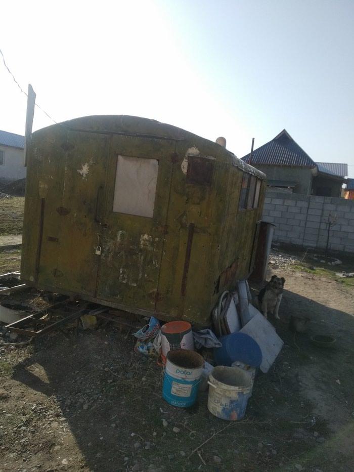 Продаю утеплённый вагон. Внутри есть буржуйка и умывальник.. Photo 1