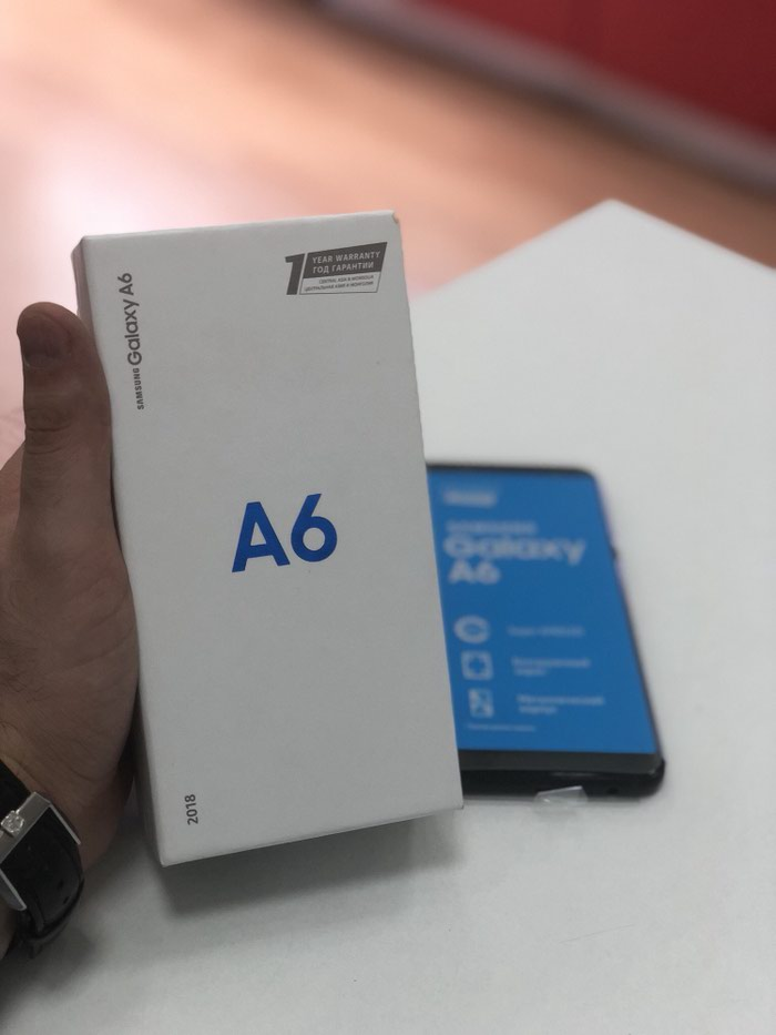 Yeni Samsung Galaxy A6 32 GB qara. Photo 0
