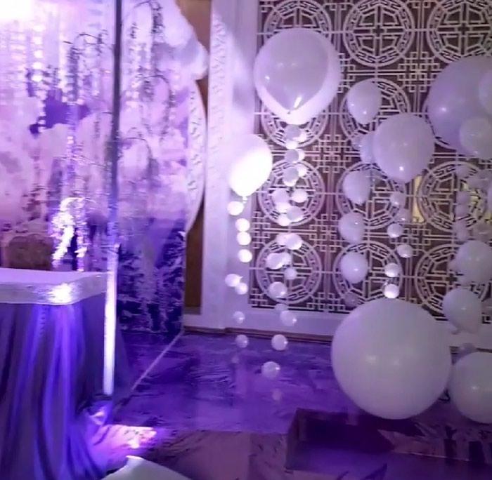 Белоснежные шары на свадьбу!. Photo 1