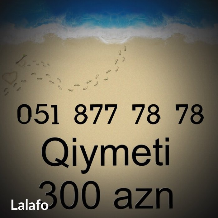 Xırdalan şəhərində Azercell nomre 0518777878