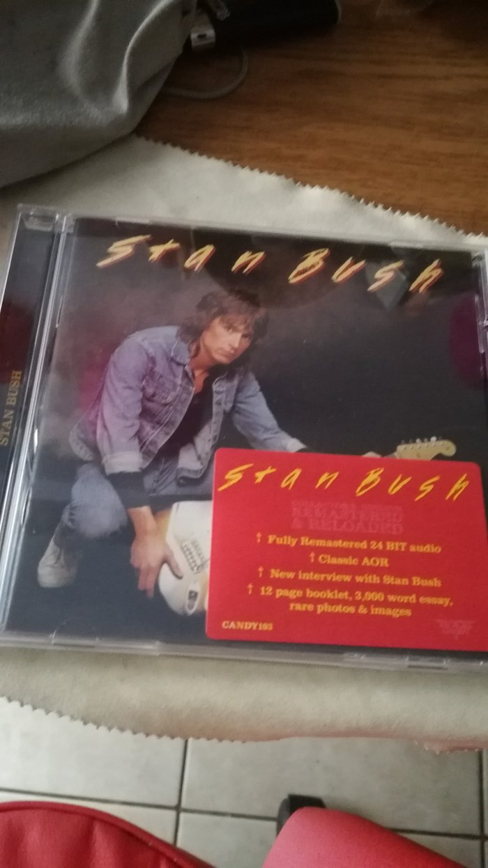 Stan Bush S/T CD. Rock Candy Remastered.  σε Πειραιάς