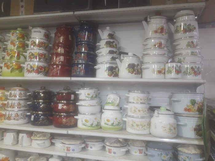 Посуды казаны от 4лит до 110 литр ,суоворода, наборы эмалированные и т д