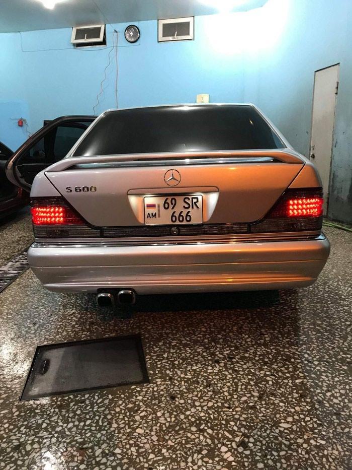 Mercedes-Benz S-Class 1997. Photo 4