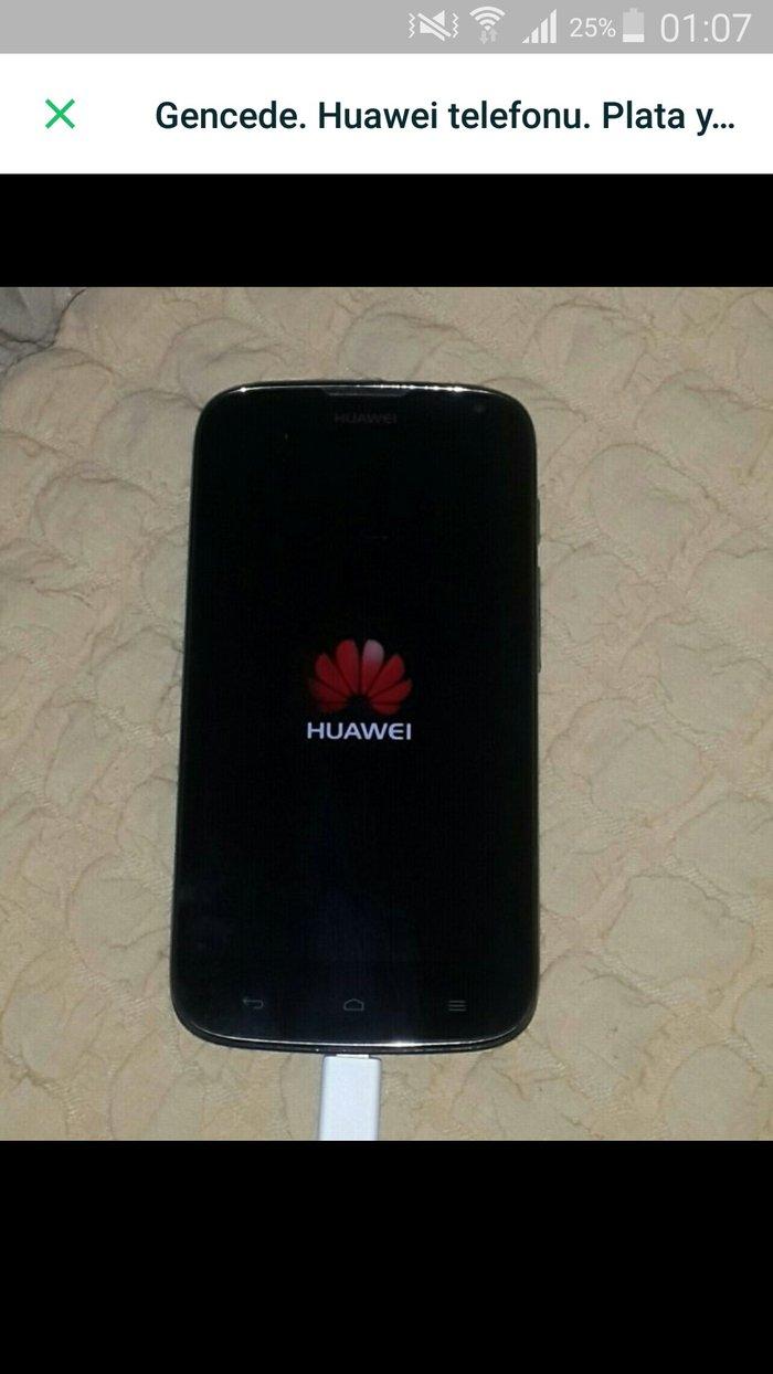 Gəncə şəhərində Gencede. Huawei  g610 telefonu. Platası yanıb. Qalan ekran,korpus,daş