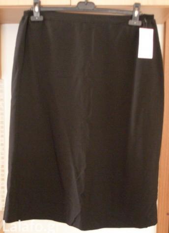 Φούστα κλασική Ιταλίας αχρησιμοποίητη με το καρτελάκι της, xl, μαύρη. σε Αθήνα