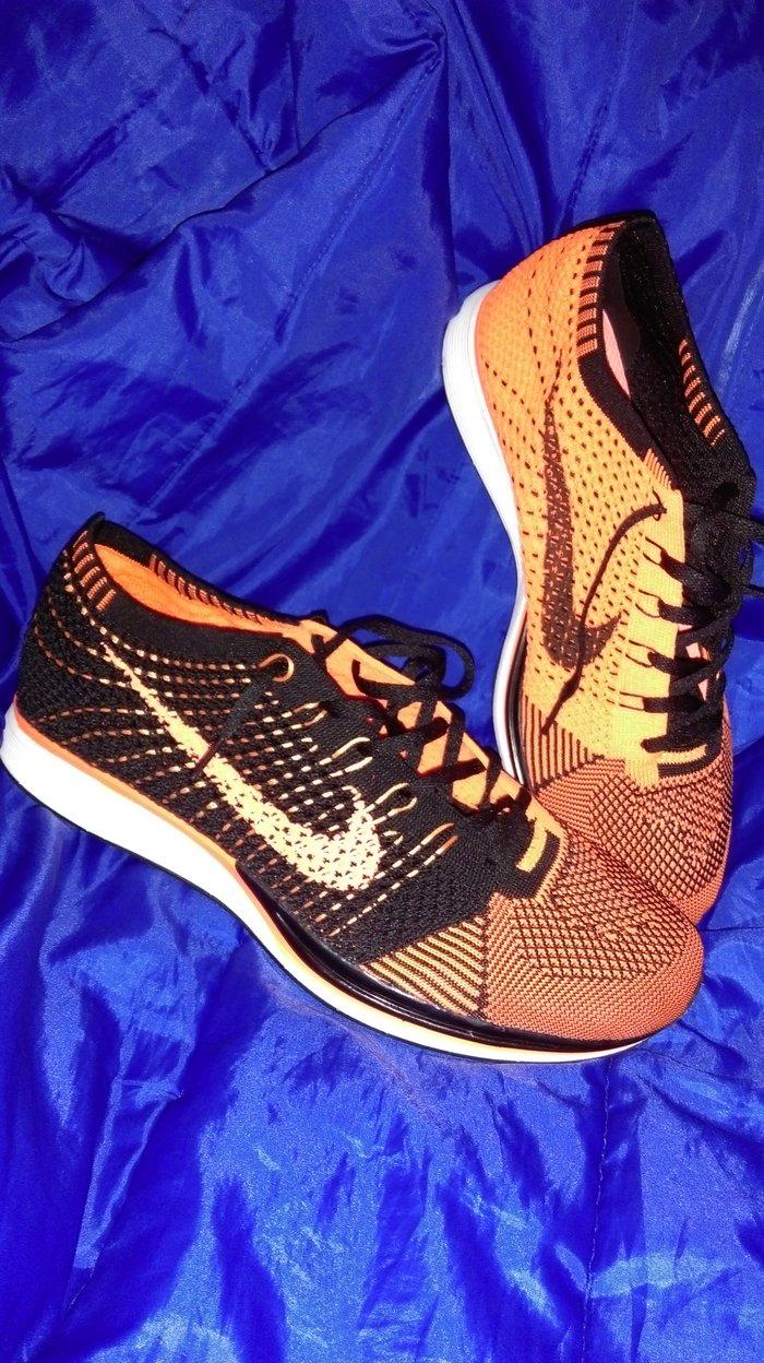 Nike Flyknit Racer ORANGE/BLACK Patike nisu ni jednom nosene, kao - Subotica