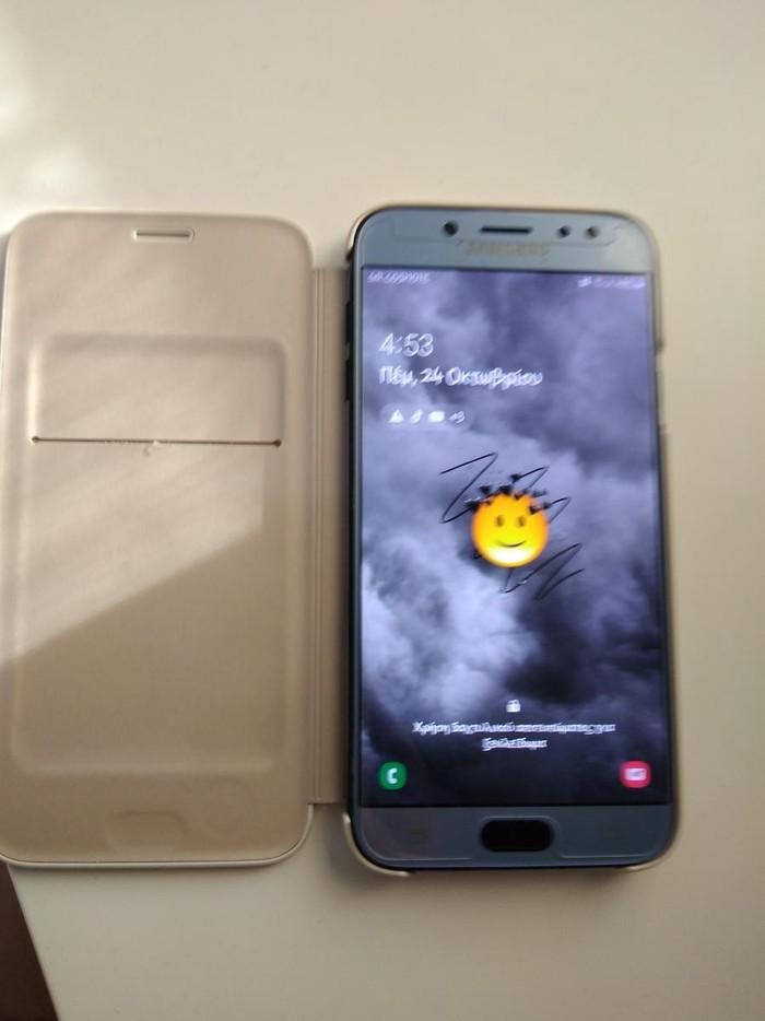 Μεταχειρισμένο Samsung Galaxy J7 2017 32 GB μαύρος. Photo 0
