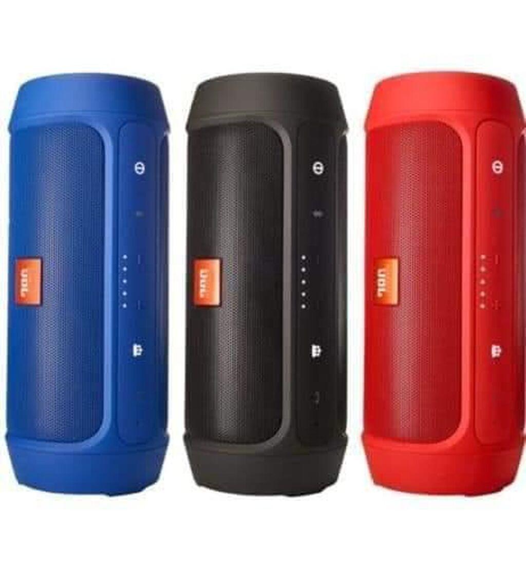 DOSTUPNO Ubl Charge 2+ prenosivi bežični zvučnik, u plavoj, crvenoj, crnoj i zlatnoj boji dostupan