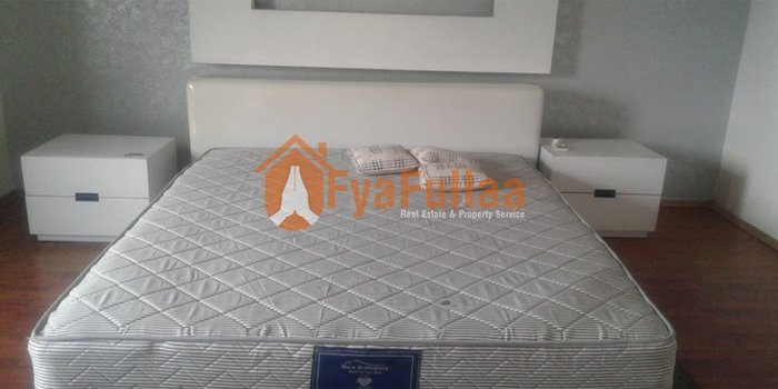 1 attached bed room,1 common bed room, 1 open living room and dinning in Kathmandu