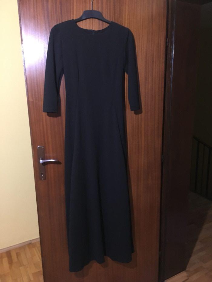 Crna duga haljina, nikad nosena. Photo 3