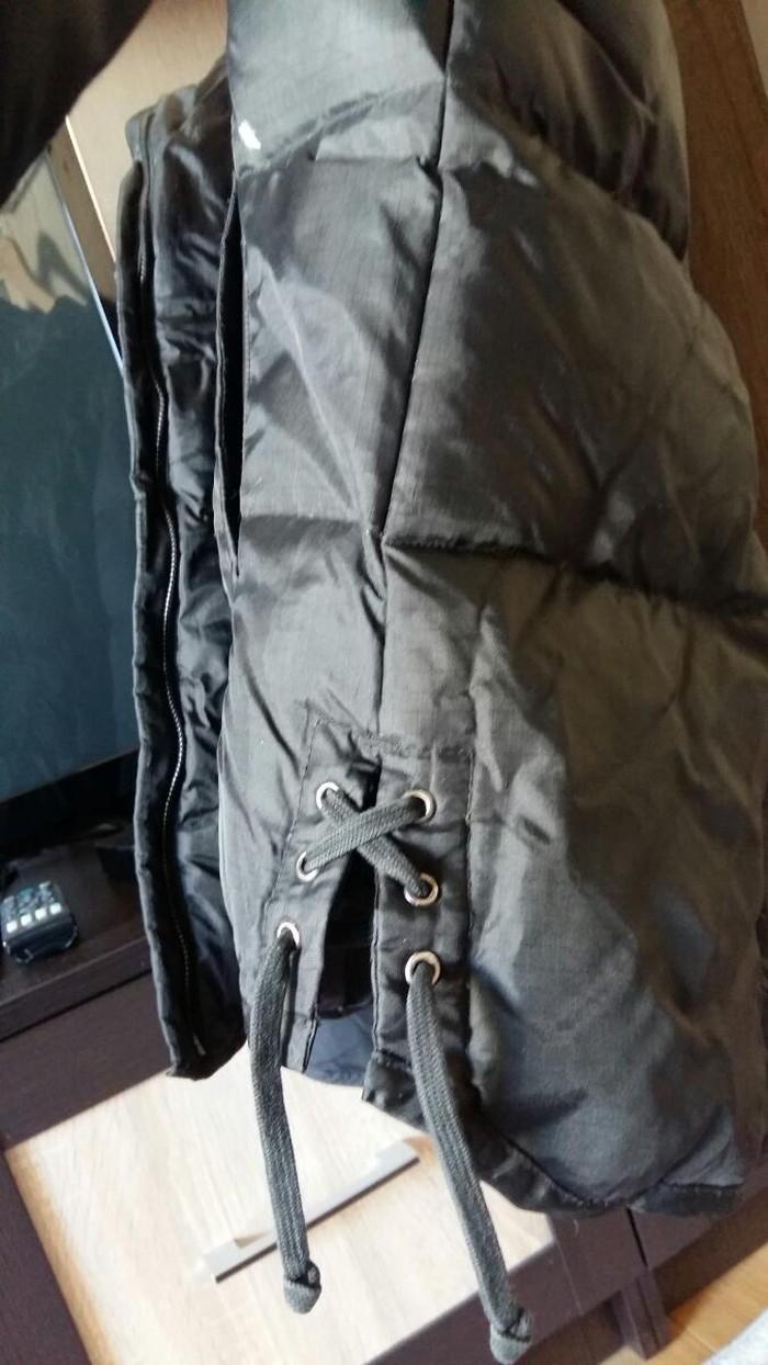 Черная зимняя женская куртка. Photo 1