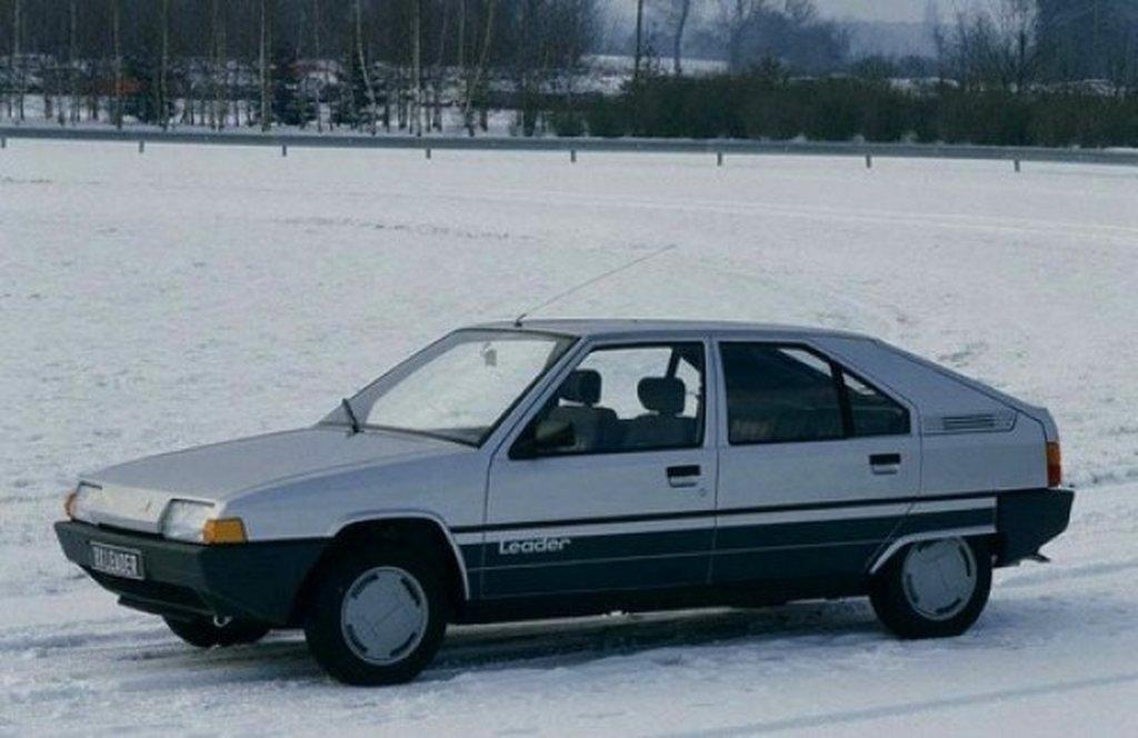 Citroen BX 1986: Citroen BX 1986
