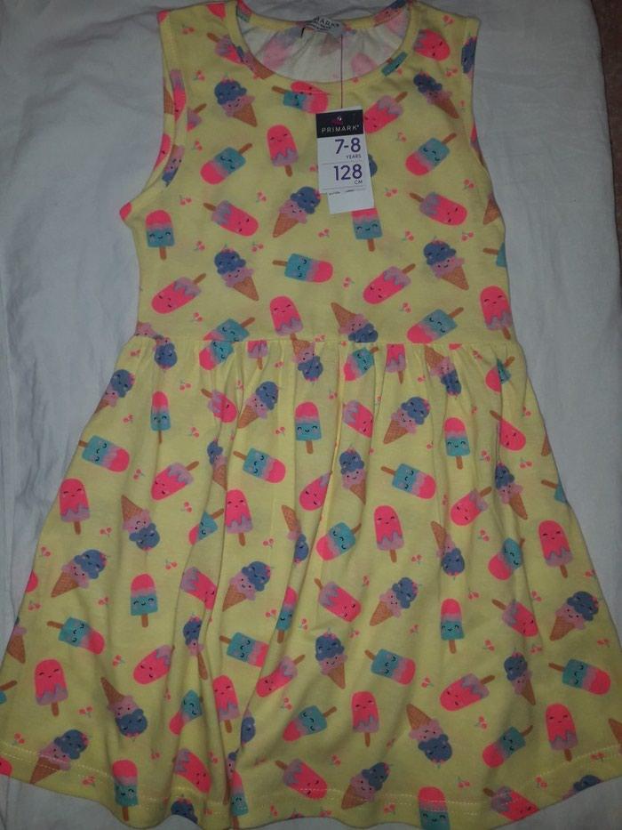 Primark haljinica za devojcicu, vel 128, 7-8 god. Nova, sa etiketom.. Photo 2