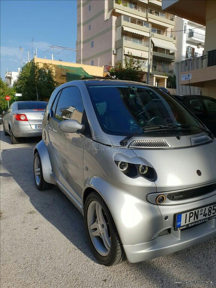 Smart Fortwo 2002. Photo 1