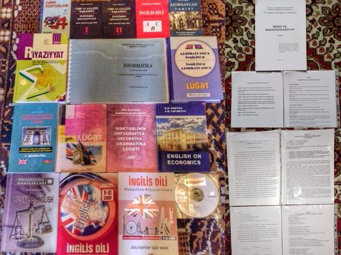 Bakı şəhərində Hal-hazırda əldə qalan kitablar və materiallar aşağıdakılardır:1) ta