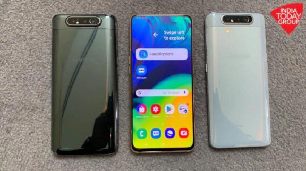 Yeni Samsung A80 128 GB qara