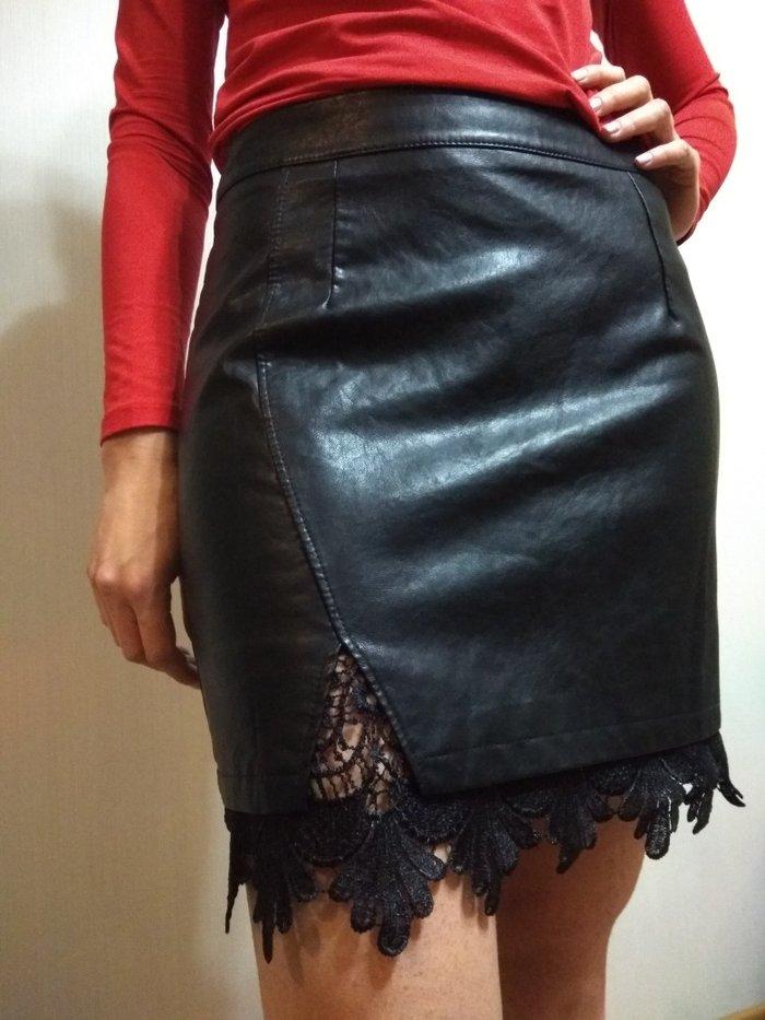 Юбки новые, эко кожа. размеры: s. маломерки 42 размеры. 700сом в Бишкек