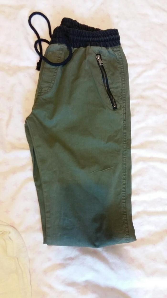 Παντελόνι αντρικό χακί καινούργιο  νούμερο 28. Photo 0