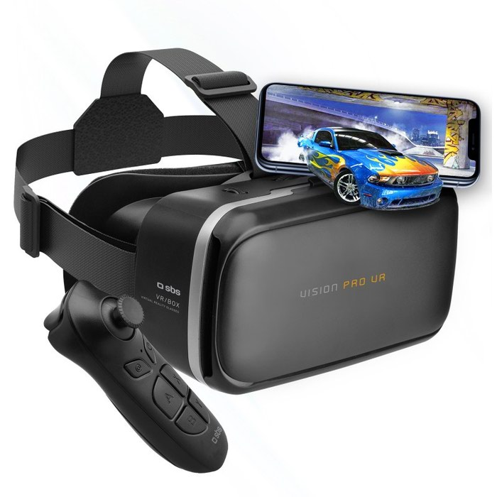 SBS Vision Pro VR Headset For Smartphone With Bluetooth Controller σε Κατερίνη