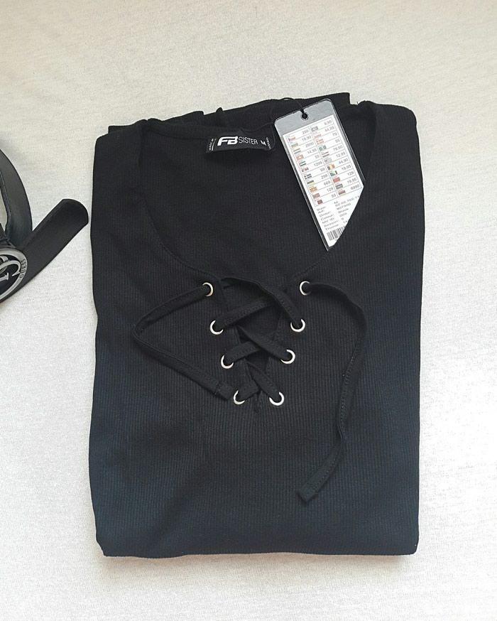 Amisu bluza na petlanje NOVO sa etiketom M velicina moze i S. Photo 1