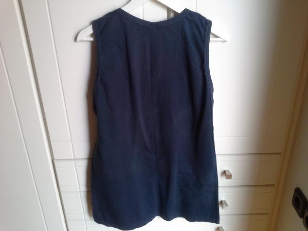Levi's αμανικη μπλουζα (unisex) χρωματος μπλε σκουρο και μεγεθους L.. Photo 3