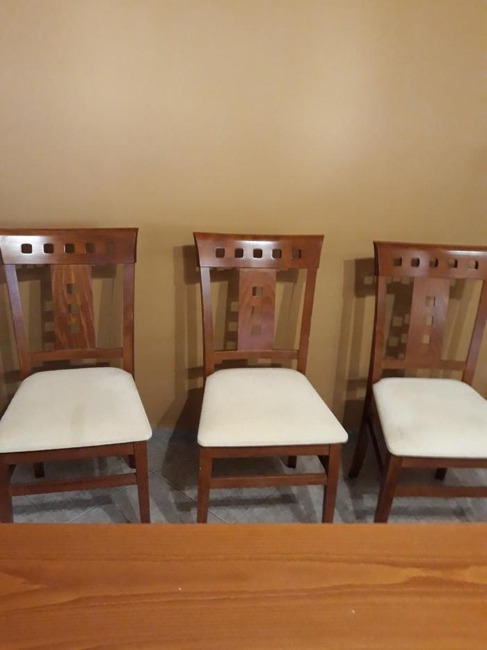 Τραπεζαρια  (καρυδια) με εξι καρεκλες. Τιμη 500. Photo 4