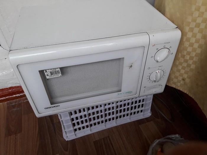 Микровол.б/у .корея.рабочая .. Photo 0