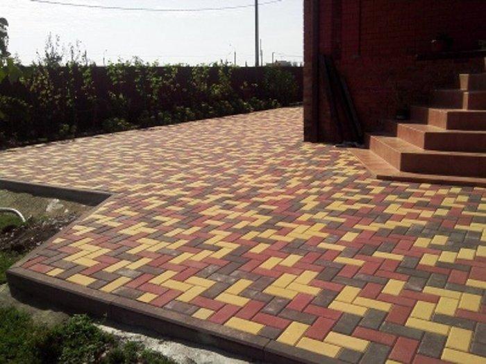 Прессований тротуарный плитка. Photo 3