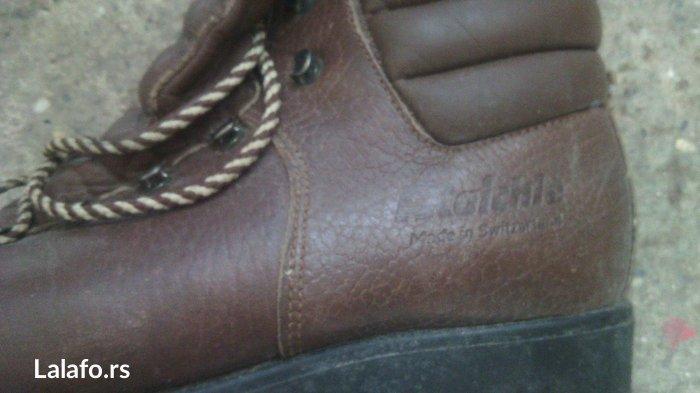 Kožne cipele, original ostećenje jedino se vidi na slici..  - Cuprija