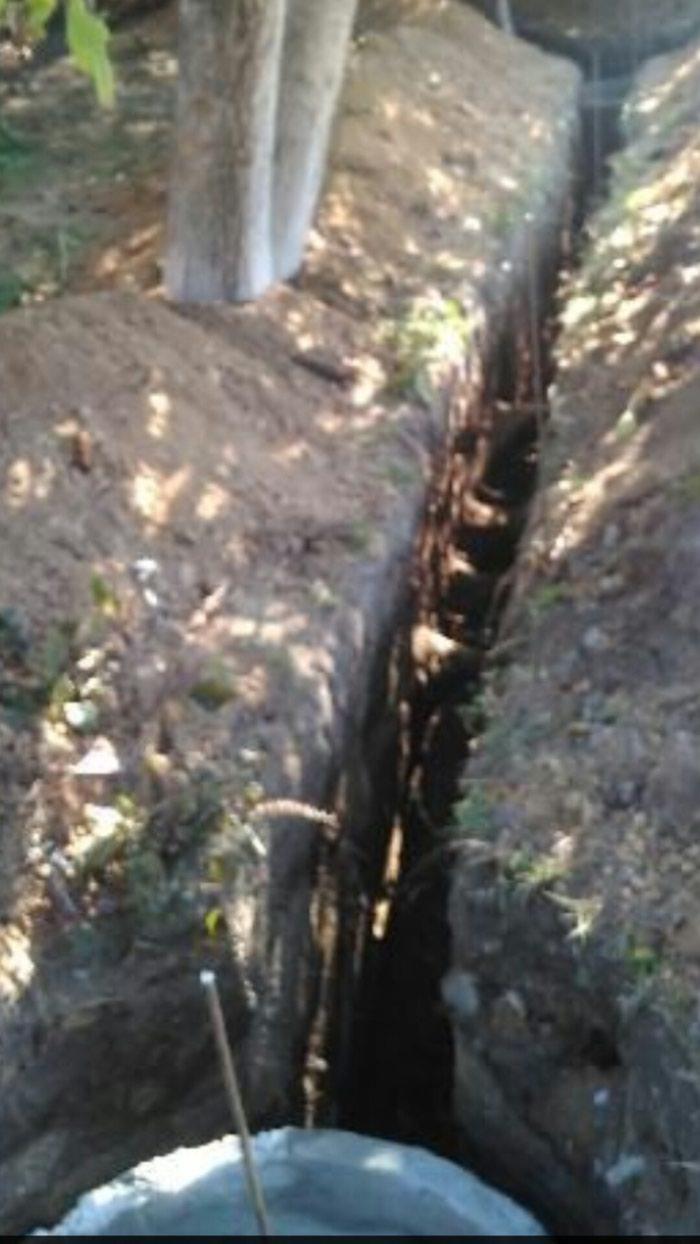 Копаем траншейи проводим воду и сантехнические услуги в Бишкек