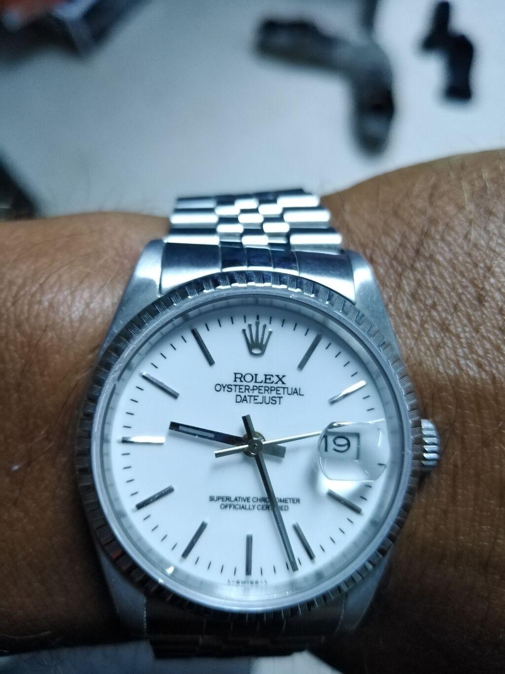 Άλλα - Περιφερειακή ενότητα Θεσσαλονίκης: Ρολόι Rolex oyster perpetual datejust superlative chronometer officially certified l-swiss-l