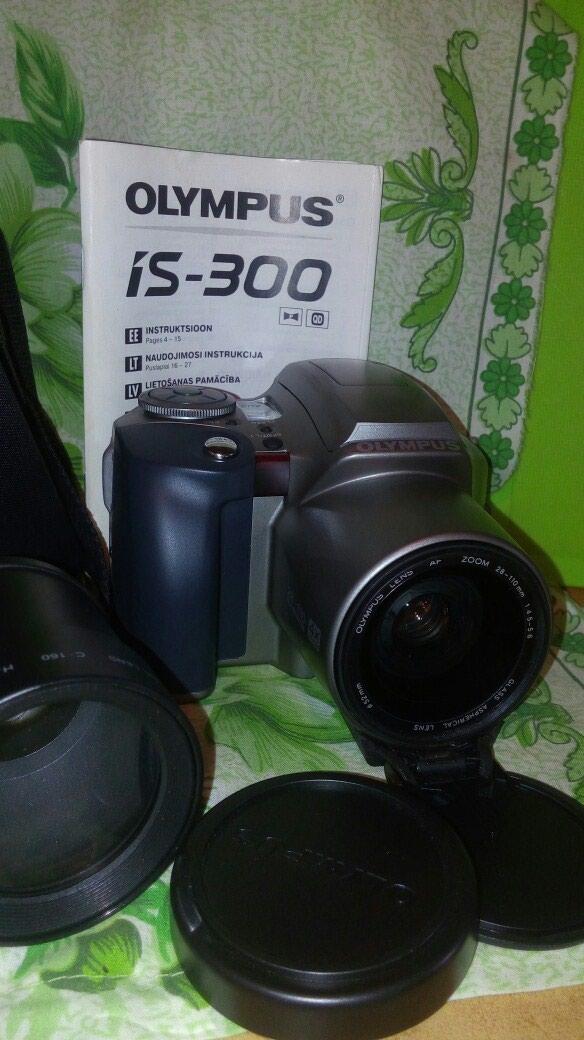 Olympus is 300+obyektiv fotoapparat satılır təzədir.28-110 mm. Photo 4