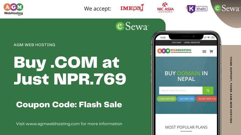 IT, Internet, Telekom - Kathmandu: Domain Registration Services - AGM Web Hosting