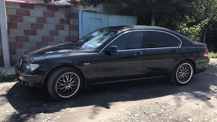 BMW 740 2008. Photo 0