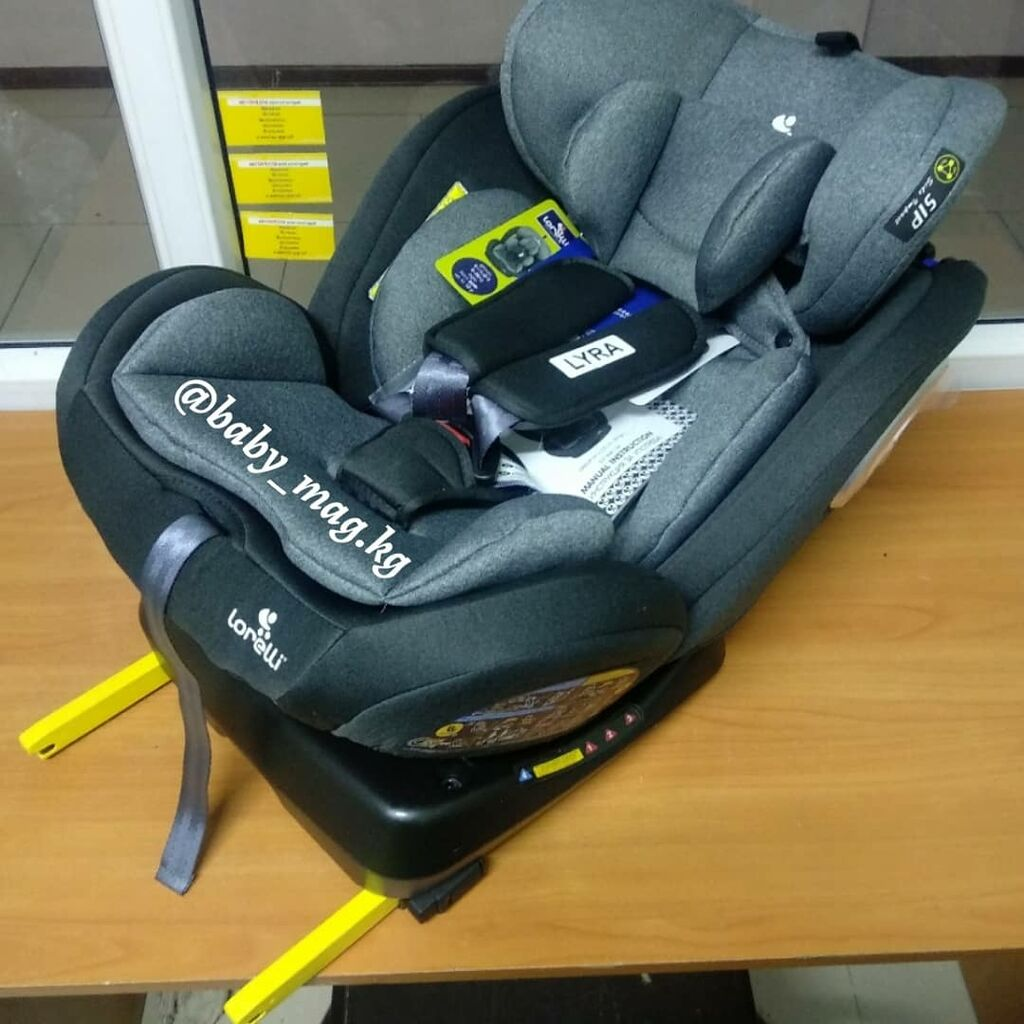 Автокресло с рождения до 36 кг! Крепление isofix, поворотное сидение: Автокресло с рождения до 36 кг! Крепление isofix, поворотное сидение