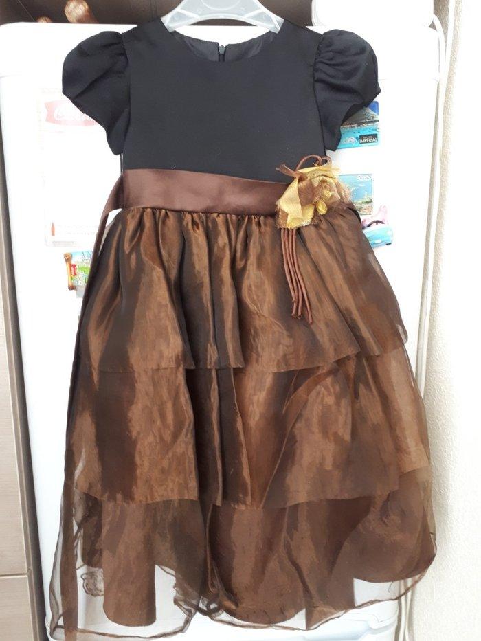 девочковые платья 5-6 лет   черное пышное - 1000 с, серое -500 с, в ... c260a493fa8