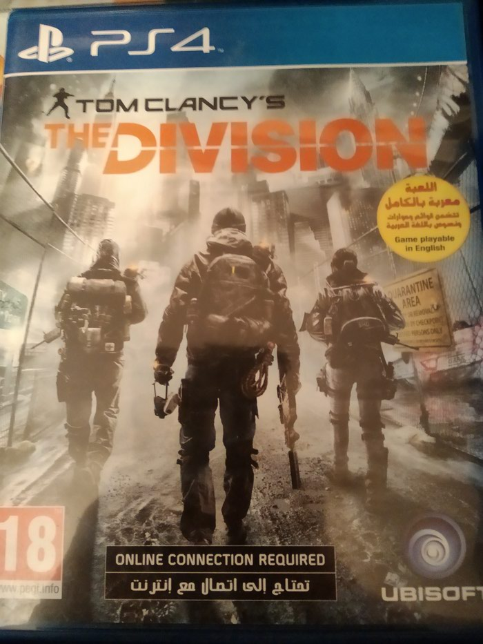 The Division ps4. Photo 0