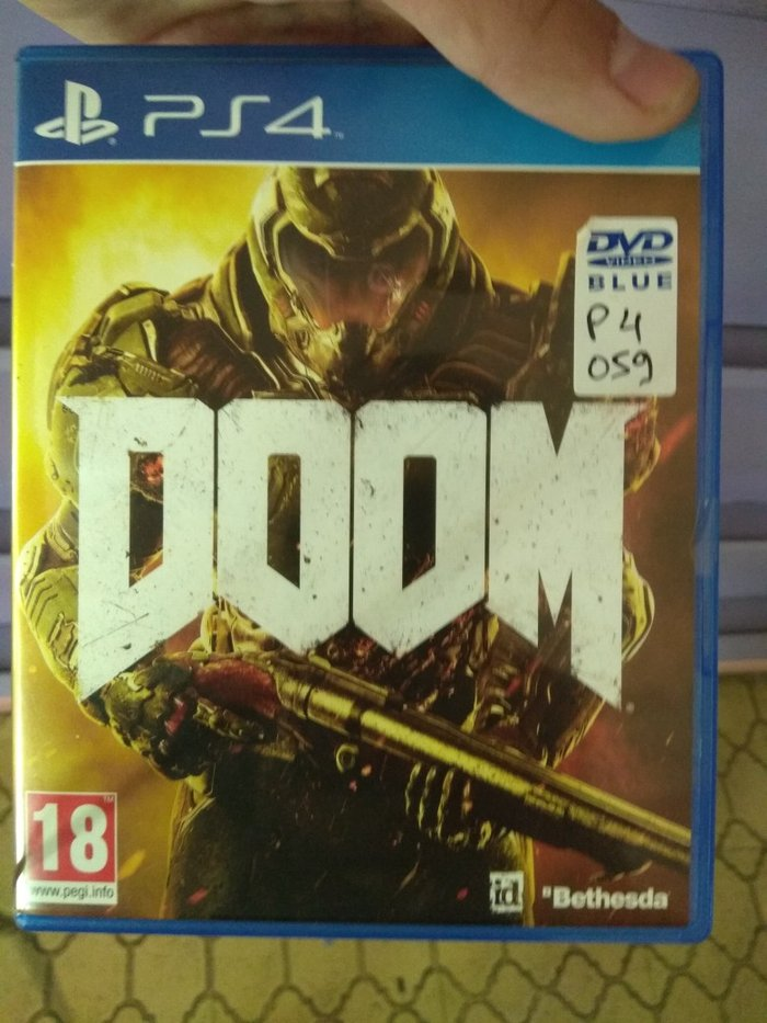 Doom PS4 καινούργιο. Photo 2