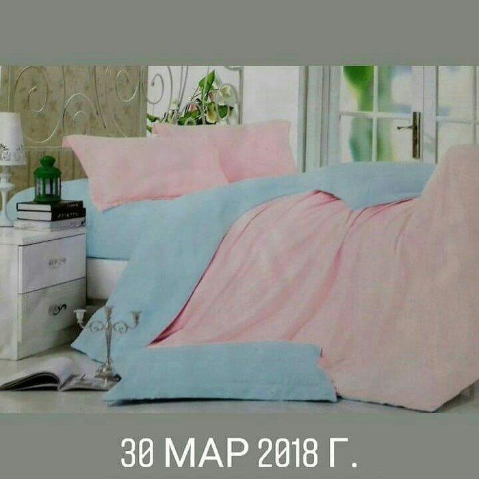 Двуспальное постельное бельё. Photo 0