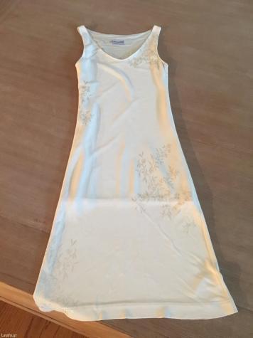 Κρεμ φορεμα camomila Νουμερο 44