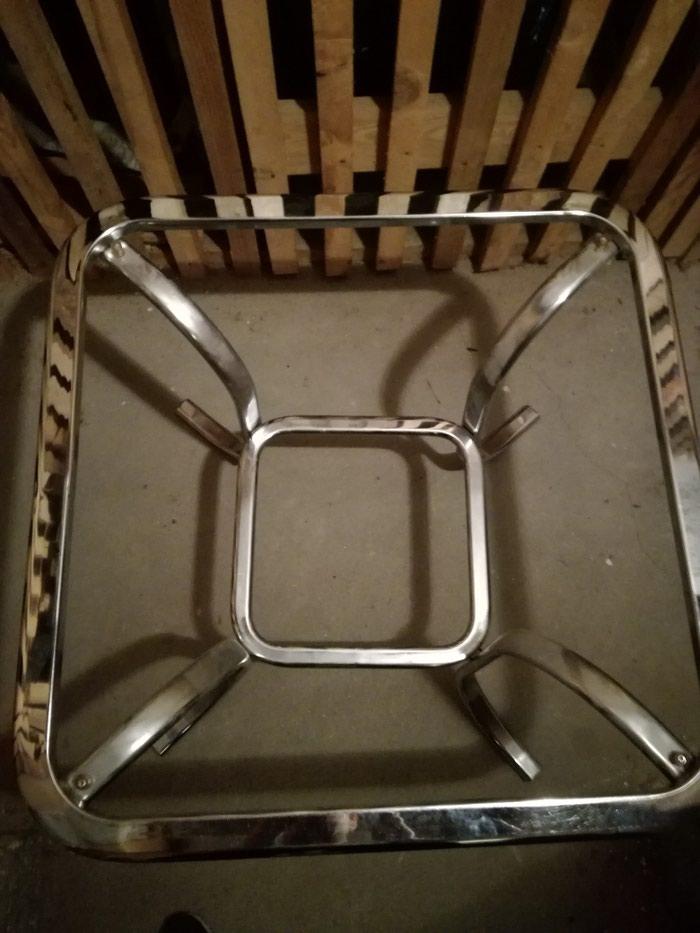 Na prodaju konstrukcija za sto,preko se samo stavi staklo. - Beograd